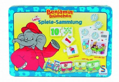 Schmidt-40494-Spielesammlung-Benjamin-Blmchen