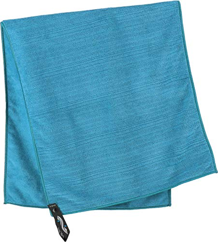 PackTowl Reisehandtuch Outdoorhandtuch Luxe Handtuch, Hand (42x92 cm), Aquamarin