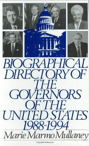 Biographical Directory of the Governors of the United States 1988-1994: 1988-94