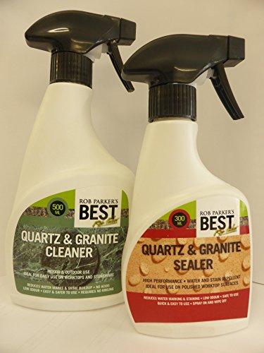 rob-parkers-best-twin-pack-quartz-granite-sealer-355ml-quartz-granite-cleaner-500ml
