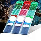 Nosii TIG Soudure électrodes de tungstène 10 tiges de soudure (rouge, gris, vert)