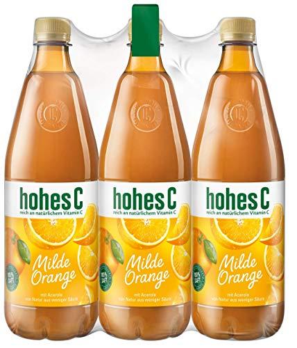 Hohes C Milde Orange - 100% Saft, 6er Pack (6 x 1 l)