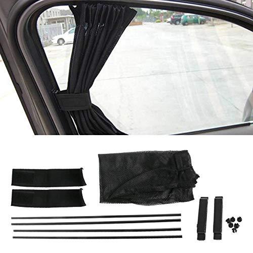 Hadeyicar 1 Satz universelle, Schwarze, ineinandergreifende VIP-Sonnenschirme mit UV-Schutz