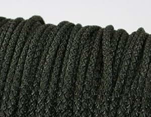 10m PP-Schnur - 5mm stark - Farbe: schwarz