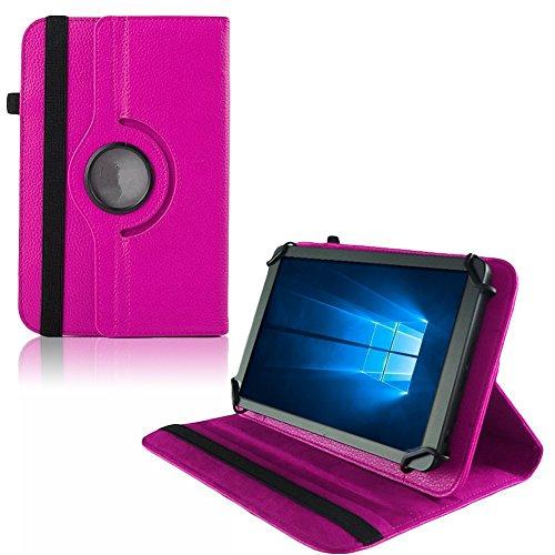 UC-Express Hülle Blaupunkt Enterprise 1020CH Tablet Tasche Schutzhülle Universal Case Cover, Farben:Pink