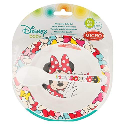 Disney- Set Microondas Baby 2 Piezas (Cuenco y Cuchara) De (STOR 45378)