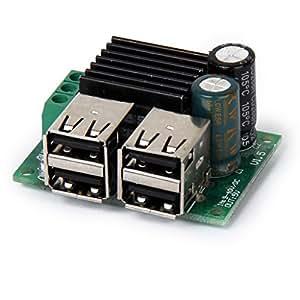 DC 12V 24V 40V à 5V module d'abaisseur d'alimentation USB