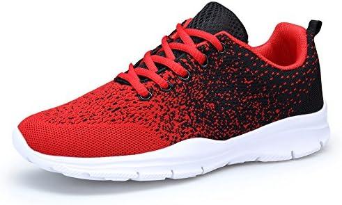 DAFENP Zapatillas Hombres Mujer Deporte Running Zapatos para Gimnasio Sneakers Deportivas Transpirables Casual...