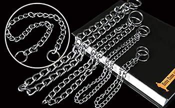 AMDXD Harnais de Laisse pour Chien Base Colliers Acier Inoxydable Harnais Laisses Set pour Chien Colliers Cha?ne P S