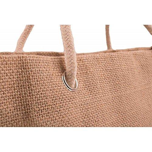 Primtex  sac de plage, Borsa da spiaggia  Donna Rosso