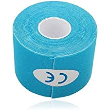5M*5cm Kinesiology Elastic Tape Rope Sports Physio Muscle Strain Injury Support 1 Roll by Duolaimei
