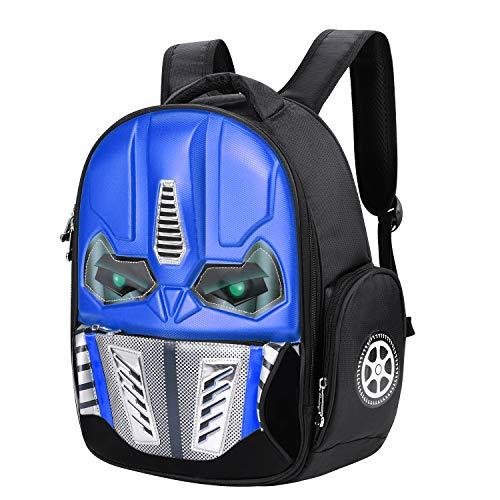 Mochila para el Robot de niños, Mochila 3D para niños, Brillante, Mochila Escolar, Primaria, Colegio...