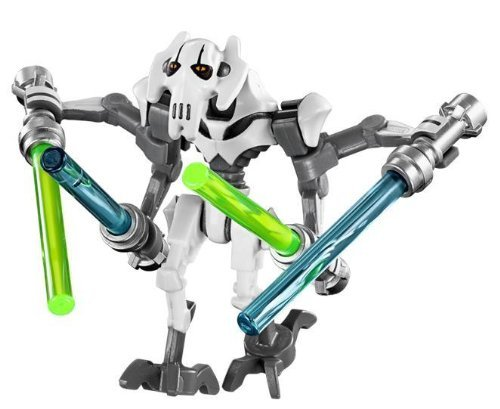 LEGO Star Wars - General Grievous WHITE minifigure 2014 by LEGO (General Figur Grievous)