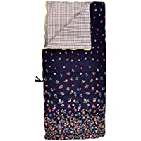 Sleeping Beauties Printed Cotton Sleeping Bag - perfect for camping, glamping & festivals - Fly Away Floral