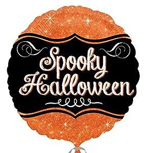 """Amscan International 3136601 """"Sparkle Spooky Halloween Globos de Papel de Aluminio (estándar)"""