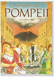 the Downfall of Pompeii 2013 Board Game