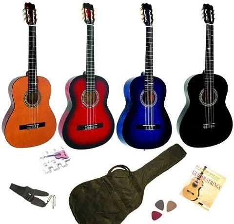 Guitares Classiques - Pack Guitare Classique 4/4 Avec 5 Accessoires