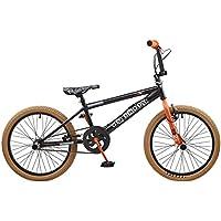Rooster Big Daddy Spoked Special Edition - Bicicleta BMX, 20pulgadas, negro / naranja