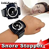#6: Kebidumei Electronic snore Stopper Biosensor Anti Snore Wristband Watch Cessation Cure Solution Pure Sleeping Night Guard Aid