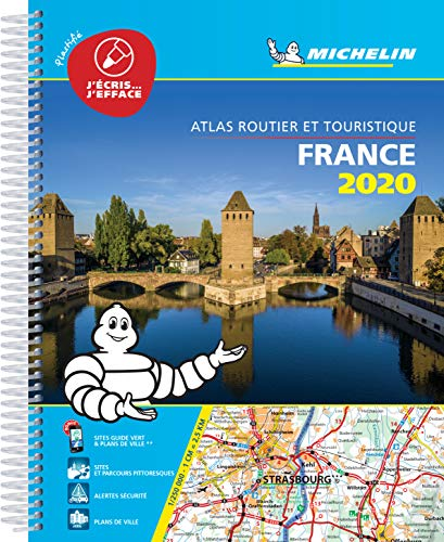 Atlas France Plastifié Michelin 2020