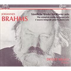 Vier Klavierst�cke, op. 119: II. Intermezzo E-Moll