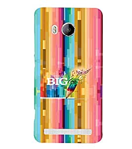 PRINTVISA Abstract Quotes Case Cover for VIVO XSHOT