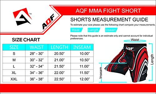 AQF-Shorts-UFC-MMA-Grappling-Short-Kick-Boxing-Mens-Muay-Thai-Pants-Gym-Wear-LD