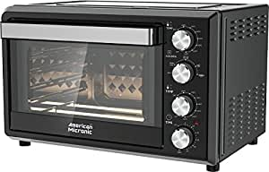 American Micronic AMI-OTG-36LDx 36-Litre Oven Toaster Griller with Rotisserie (Black)