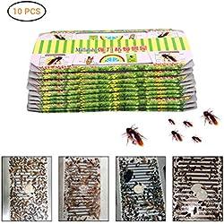 EisEyen Pegamento para cucarachas, Trampa para Cebo, Funciona en Insectos Que se derramen en la Hierba, escarabajos, arañas, Hormigas