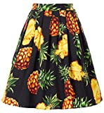 Festliche röcke Damen 50er Jahre Rock Fashion Audrey Hepburn Rock CL6294-30 M