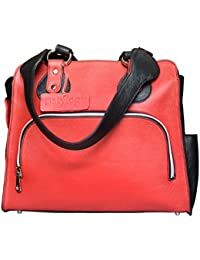 Stylogy Women's Tote Bag (Red) (BAG-LTO13-00014-A)
