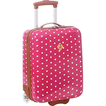 Valise cabine pour enfant - Fille - ABS/PC rose T002RO pPVHiNOO4