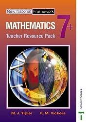 New National Framework Mathematics 7+ Teacher Resource Pack: Teacher Resource Pack 7+ by M J Tipler (2003-07-11)