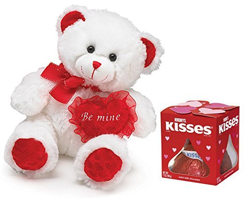 be-mine-valentines-day-bear-and-7-oz-giant-hershey-kiss-2-piece-gift-set-by-combined-brands