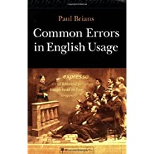 Common Errors in English Usage by Paul Brians (2003-03-04)