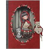 Diario Gorjuss con candado - Little Red Riding Hood