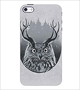 APPLE IPHONE 4 OWL Designer Back Cover Case By PRINTSWAG