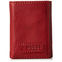 GUESS Men's Trifold Wallet, Red - 31GUE11028