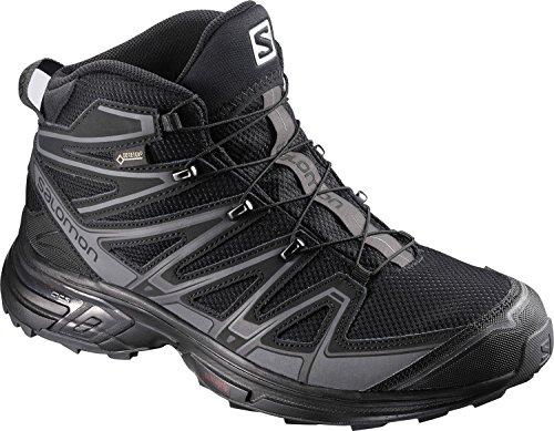 Salomon L39183200, Chaussures de Randonnée Hautes Homme black/magnet