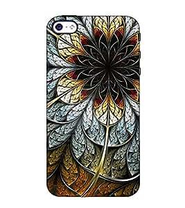 Fuson Designer Back Case Cover for Apple iPhone 4S (Colourful Designer Theme)