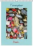 Terminplaner Danke. (Wandkalender 2015 DIN A4 hoch): Farbenfroher Wandkalender als Terminplaner (Monatskalender, 14 Seiten)