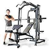 Marcy MP3100 Smith Machine Home Gym With Weight Bench