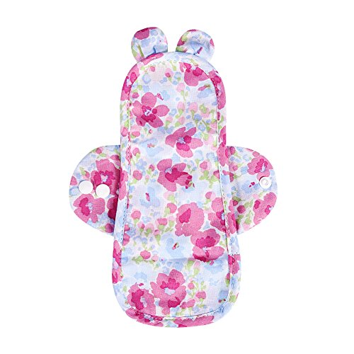 Haut Feminine Tücher (Waschbare Binden aus Bambus, Feminine Waschbar Organic Cotton Menstruation Panty Liner Tageshygiene Tuch Pads(#1))