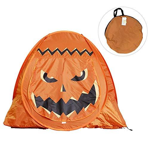 Festival Indoor Outdoor Spielhaus Halloween Kürbiszelt Mit Pop-Up Für Kinder Spiel ()
