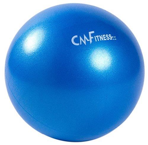 CM Fitness Pilates Ball 9 inch / 23cm Exercise Gym Soft Over Ball(Blue)