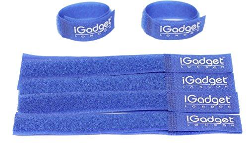 IGadget® Heavy Duty wiederverwendbaren klettklett cavo di collegamento 20mm x 180mm