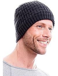 Hilltop Herren Winter-Strickmütze mit Fleece / Mütze /