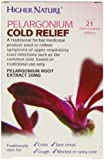 Higher Nature Higher Nature Pelargonium Cold Relief - Pack of 21 Tablets