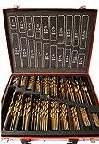 Lot de 202 forets de cobalt (HSS-Co/inox) MétalHSS –conçu pour l'acier inoxydable