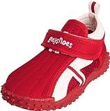 Playshoes UV-Schutz Aqua-Schuh sportiv 174798, Sandales mixte enfant - Rouge-TR-SW16, 22/23 EU